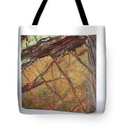 Rainforest Green Marble Tote Bag