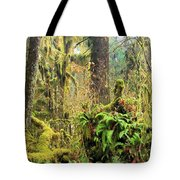 Rainforest Salad Bar Tote Bag