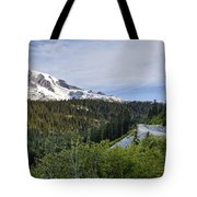 Rainier Journey Tote Bag by Mike Reid