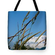 Rainier Weeds Tote Bag