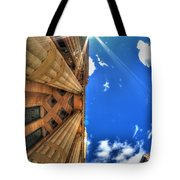 Raining Rays Tote Bag