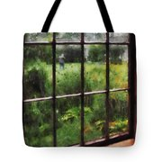 Rainy Day Tote Bag by Susan Savad