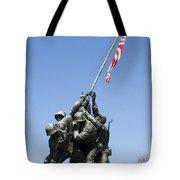 Raise The Flag Tote Bag