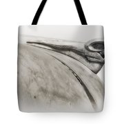 Ram Tough - Dodge Hood Ornament Tote Bag