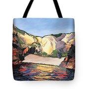 Ramsey Island - Land And Sea No 2 Tote Bag