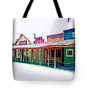 Ranch Buildings - Hdr White Tote Bag
