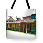 Ranch Buildings - White Tote Bag
