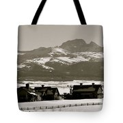 Ranch With A View Tote Bag