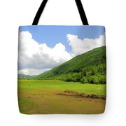 Ranching In The Boundary Tote Bag