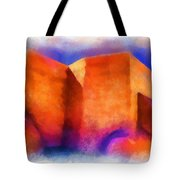 Ranchos Nave - Watercolor Tote Bag