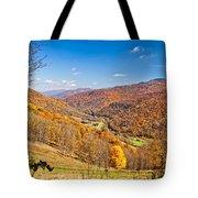 Randolph County West Virginia Tote Bag