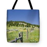 Rangeland Wild Flowers Tote Bag