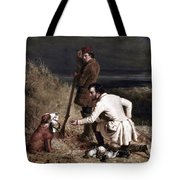 Ranney: Duck Shooting Tote Bag