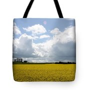 Rape Field Tote Bag