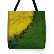 Rapeseed Growing In A Field, Ireland Tote Bag