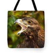Raptor Rage Tote Bag