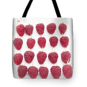 Raspberry Formation Tote Bag