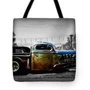 Rat Rod Profile Tote Bag