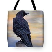 Raven Beauty Tote Bag