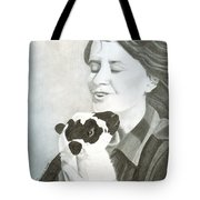 Raven O'keefe And Minnie Tote Bag