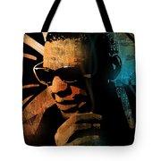 Ray Charles Tote Bag