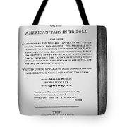 Ray: Horrors Of Slavery Tote Bag