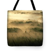 Rays Of Early Morning Sunlight Beam Tote Bag