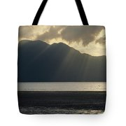 Rays Of Sunlight Through Clouds Tote Bag