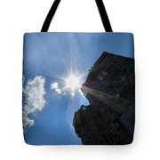 Rays On The Castle Tote Bag