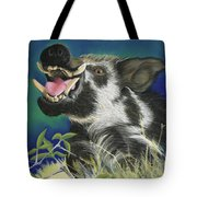 Razorback Tote Bag by Tracy L Teeter
