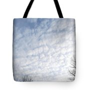 Reaching The Clouds Tote Bag