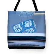 Rear View Mirror Dice Tote Bag