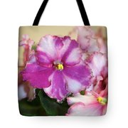 Rebel Petals Tote Bag