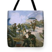 Rebellion In Venice Tote Bag