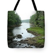 Receding Tide In Maine Part Of A Series Tote Bag