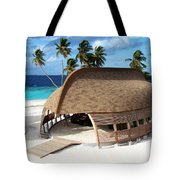 Reception Dhoni. Maldives Tote Bag