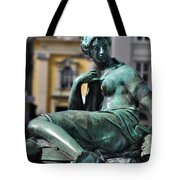 Reclining Nude Vienna Tote Bag