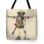 Reconstructed Man Tote Bag