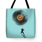 Record Breaker Tote Bag