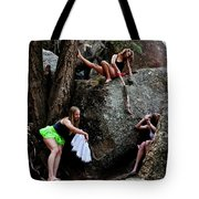 Recruiting Wild Untamed Dancers Tote Bag