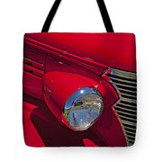 Red 1938 Chevy Coupe Tote Bag