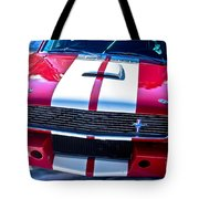 Red 1966 Mustang Shelby Tote Bag