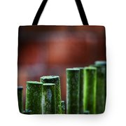 Red And Green Too Tote Bag