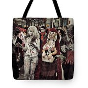 Red And Her Crew  Tote Bag