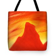 Red And Orange Tote Bag