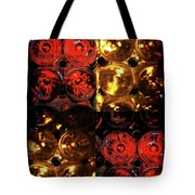 Red And White Wine Collage Tote Bag