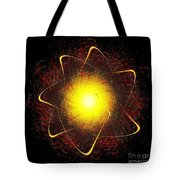 Red And Yellow Star Tote Bag