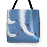Red Arrows - Formation Magic Tote Bag