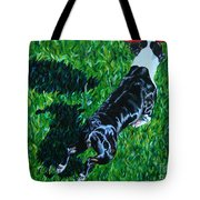 Red Ball Flight Tote Bag