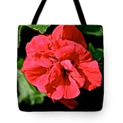Red Begonia Tote Bag